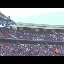 Buffalo Bills Fan Falls From Top Row Of Stands