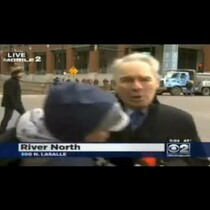 Scuffle Breaks Out When Obama Protester Interrupts Newscast