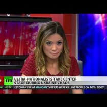 Russian Newscaster resigns live on air