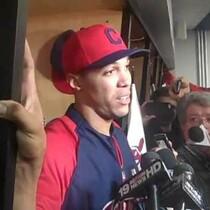 VIDEO: Ubaldo Jimenez after home opener