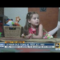VIDEO: 3 Year Old Arizona Girl Accepted Into Mensa