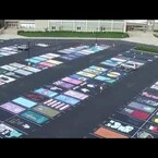 These High School Seniors Painted Their Parking Spots + The Results Are Amazing