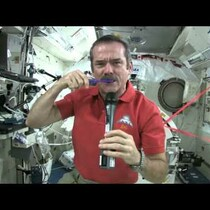How to brush your teeth in space!