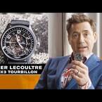 Robert Downey Jr Talks Watches