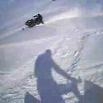 Snowmobile wheelies and sick tricks