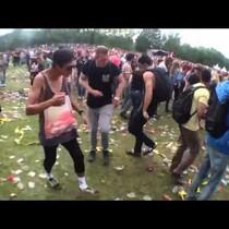 Ravers Dance To Benny Hill Theme!