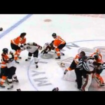 FULL AHL Hockey Brawl