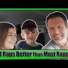 This Dad KILLS a Rap he Performed for his Kids! (Video)