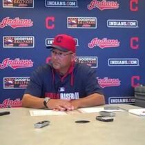 VIDEO: Terry Francona daily media gathering