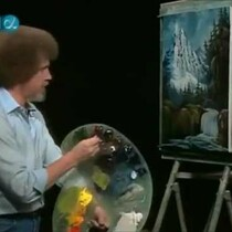 I Just Want To Be The Next Bob Ross!