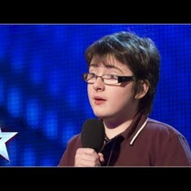 WATCH: 14 Year Old Disabled Comedian Steals The Show!