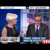 WATCH: MSNBC Anchor Hates Missing jet Conspiracy Theories