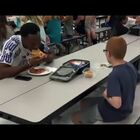 Florida State football player sits with boy at lunch who was eating alone. (VIRAL)