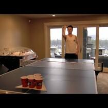 Trick Beer Pong Shots