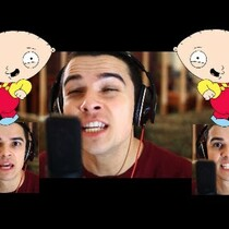 Timber covered by Family Guy Voices... VIDEO