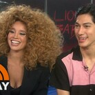 Elvis Features Lion Babe As His 'Artist of the Month' on Today Show (VIDEO)