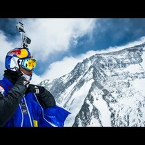WATCH: Man base jumps from Mt. Everest