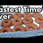 How fast can YOU eat 12 donuts?