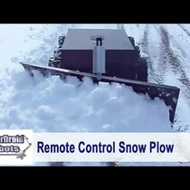 Remote Controlled Snow Plow! I'm In!