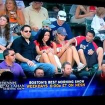 Red Sox Boobie Grab!