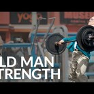 """Old Man"" Competes At Muscle Beach"