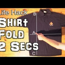 Folding a shirt in under 2 sec? No Way!