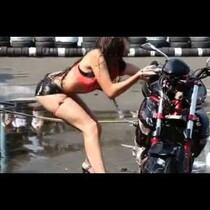 Don't Take Your Bike To Her To Get Washed
