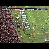Auburn wins with 1 second on the clock!