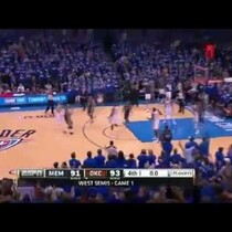 Game 1 is in the books, OKC pulls it out!