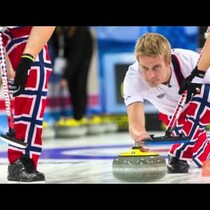 Norway's Curling Team Unveils Craziest Pants Yet for Sochi
