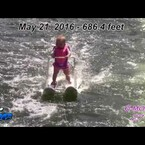 Baby On Water Skis is Only 6 Months Old