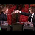 Zac Efron Rocks Crimped Hair And Plays 'Water War' With Jimmy Fallon