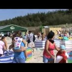 A Wild Boar Attacks Beachgoers (Video)