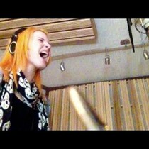 Hayley Williams reveals studio video of vocal take on Paramore's
