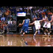 VIDEO: Ricky Rubio Drops the Backwards, One-Armed Circus Shot