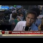 VIDEO: Sanders Supporters Mad Fence Is Locking Them Out Of DNC