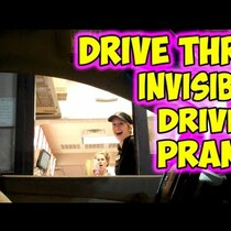 Invisible drive-thru customer!!!