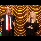 Barbra Streisand Duets With Donald Trump