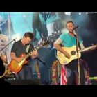 Michael J Fox joins Coldplay to sing 2 songs from