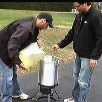 How to deep fry a turkey the proper way: