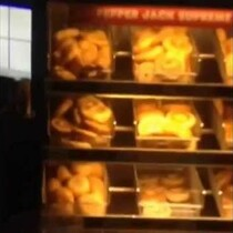 A Dunkin' Donuts in New York Got Shut Down After a Guy Filmed a Rat Crawling on the Donuts