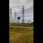 WATCH Flying Bouncy House Fly Into Power Lines!