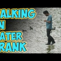 WATCH: Walking on Water Prank