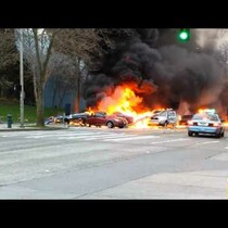 WATCH: On-Scene Video of TV News Helicopter Crash in Seattle