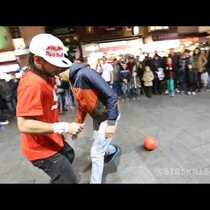 VIDEO: Insane Street Soccer Skills