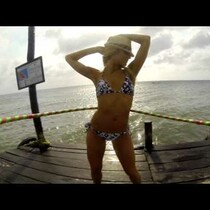 Dallas Cowboy Cheerleaders Hula Hoop With A GoPro Camera!