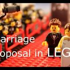 WATCH: Man Uses Legos To Propose To His GF!