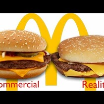 WATCH: McDonald's Ads vs The Real Thing