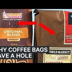 Why Does Your Coffee Bag Have A Special Hole?