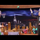 Drake plays Faceketball with Jimmy Fallon (Video)